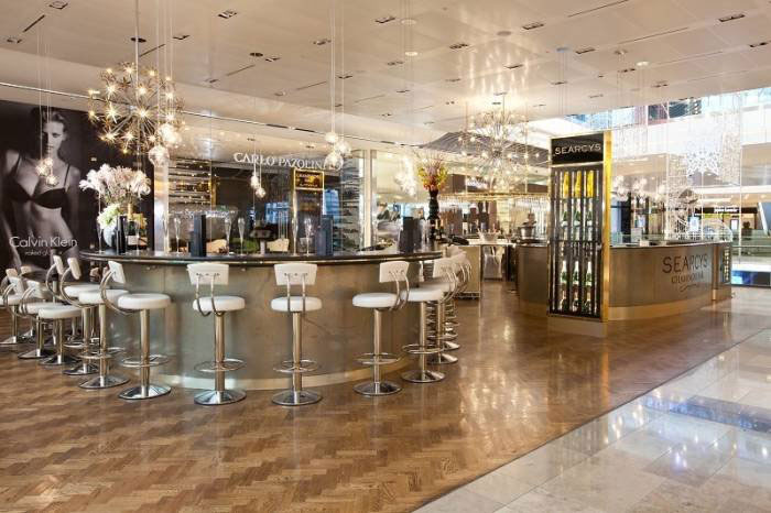 Searcys Champagne Bar Westfield Stratford - London