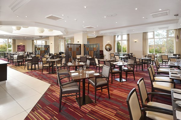 Seasons Restaurant at Hilton Dartford Bridge - Kent