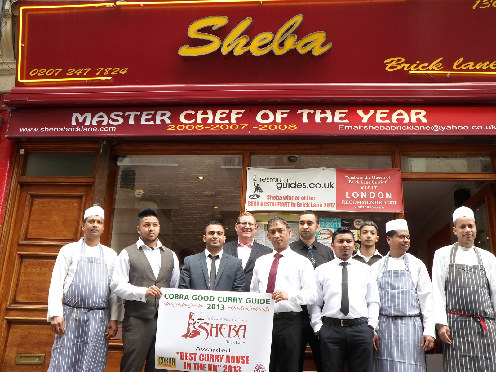 Sheba – Brick Lane - London