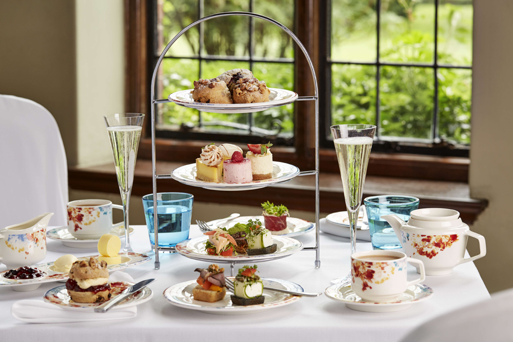 Afternoon Tea at Slaley Hall - Northumberland