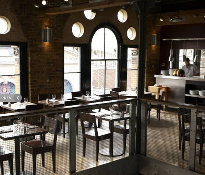 SMITHS of Smithfield, 2nd Floor Dining Room - London