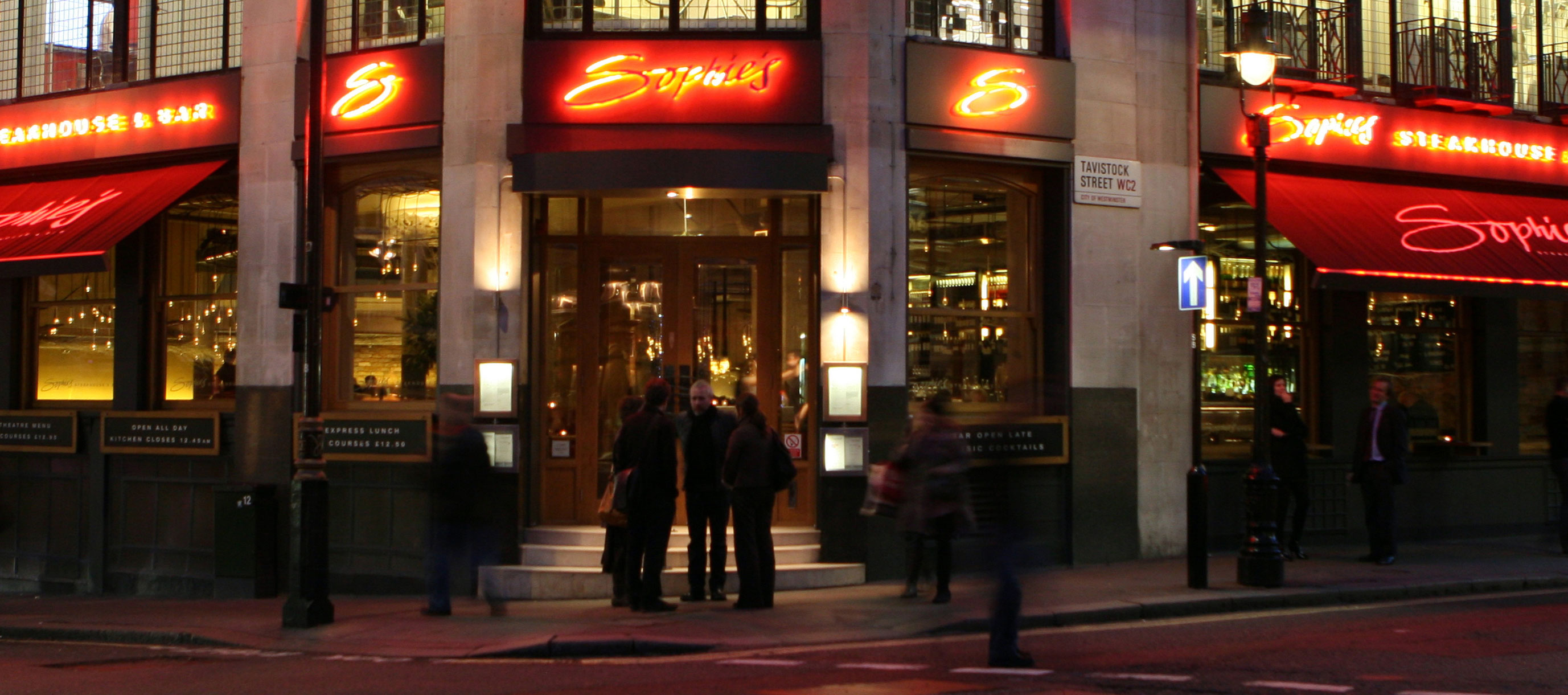 Sophie's Steakhouse and Bar - Covent Garden - London