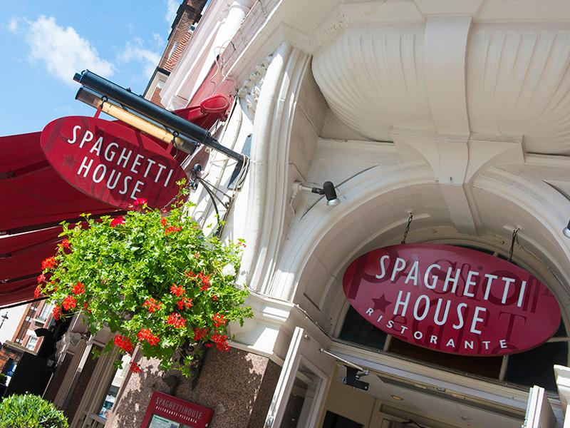 Spaghetti House - Duke Street - London