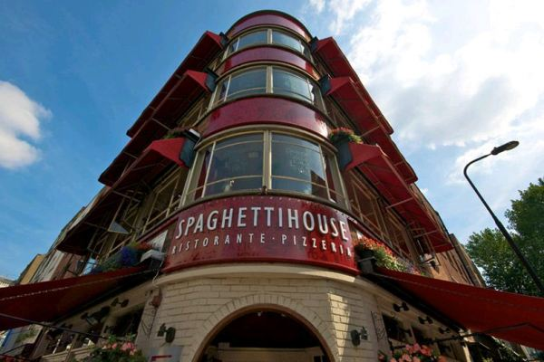 Spaghetti House - Goodge Street - London
