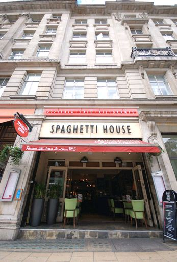 Spaghetti House - Haymarket - London