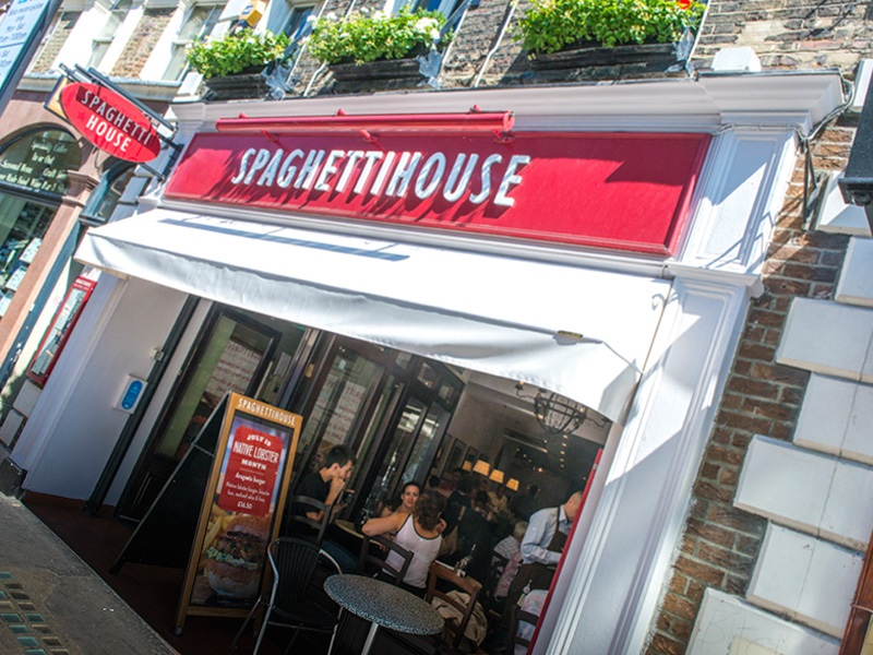 Spaghetti House - St. Martin's Lane - London