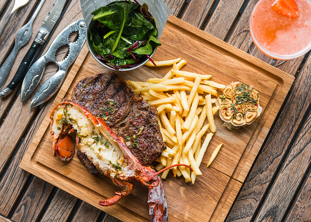 Steak & Lobster Heathrow - Yttre London