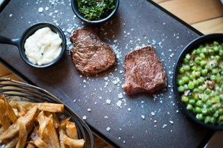 Steak on Stones - Edinburgh
