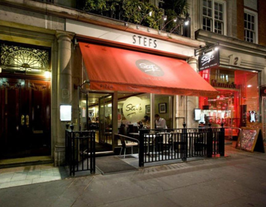 Reserve a table at Stef's Italian