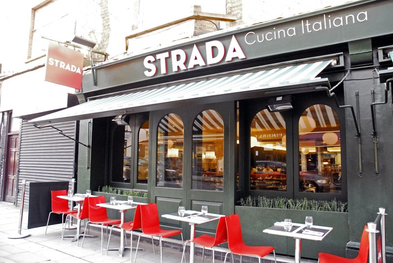 Reserve a table at Strada - Camden