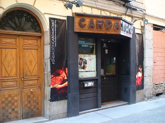 Tablao Flamenco Cardamomo - Madrid
