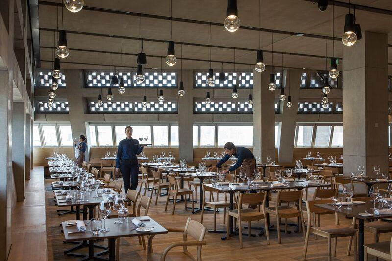 Tate Modern Restaurant at The Switch House - London