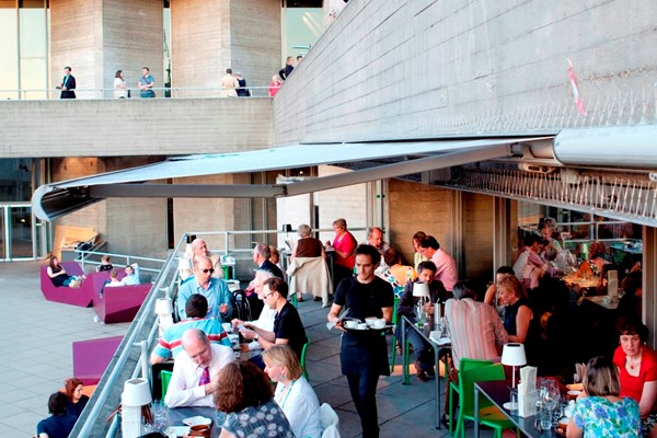 terrace restaurant at the national theatre south bank