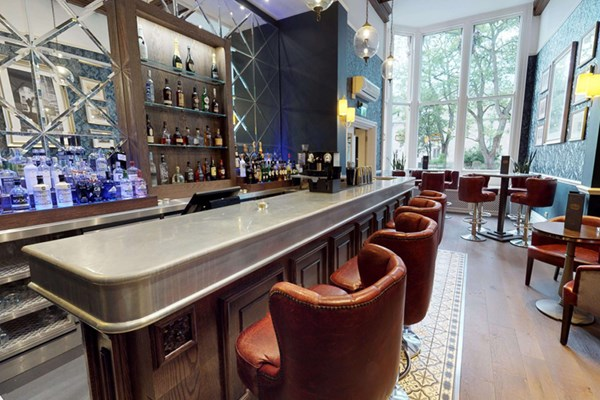 Acanthus & Cartoon Bar at the Randolph - Oxfordshire