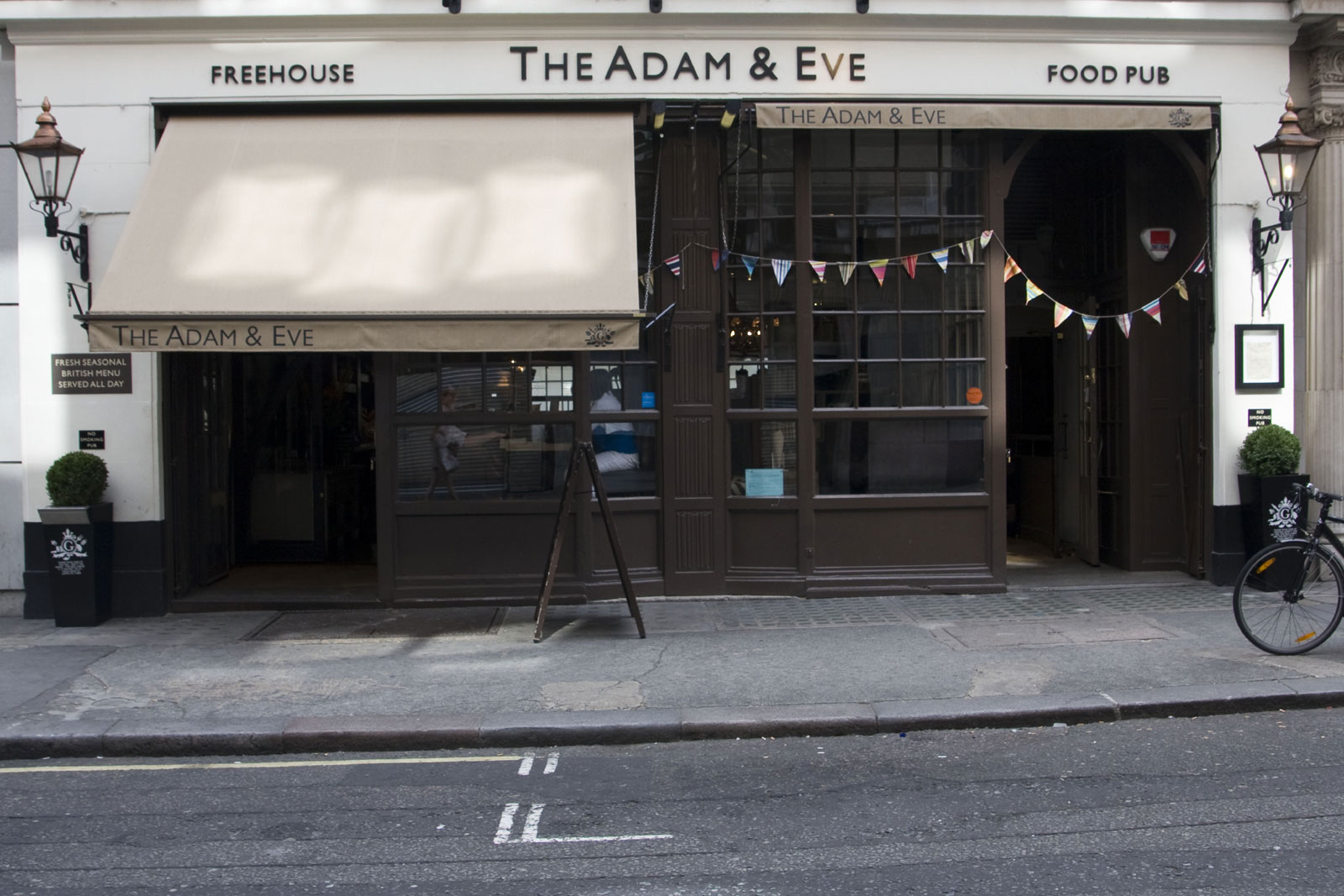 The Adam and Eve - London