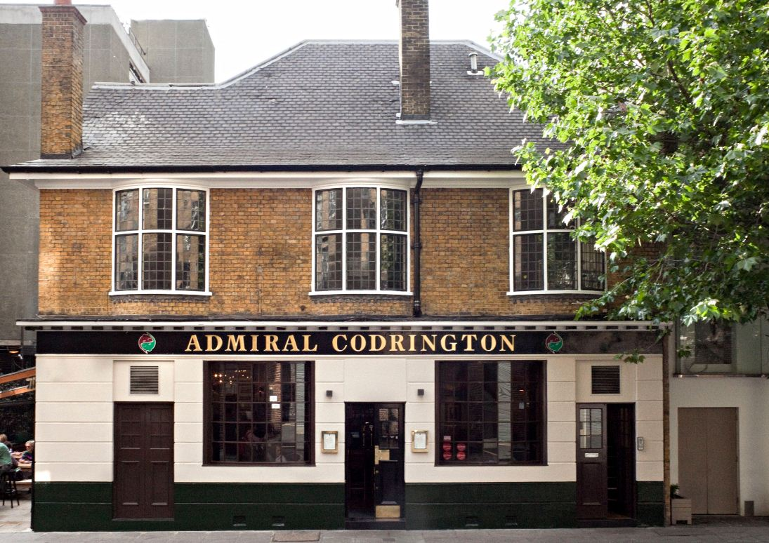 The Admiral Codrington - London