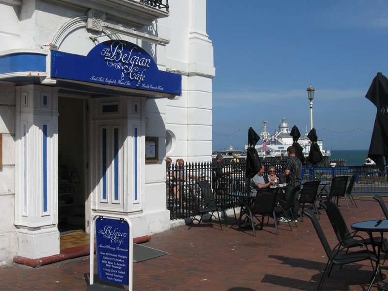 Reserve a table at The Belgian Cafe - Eastbourne