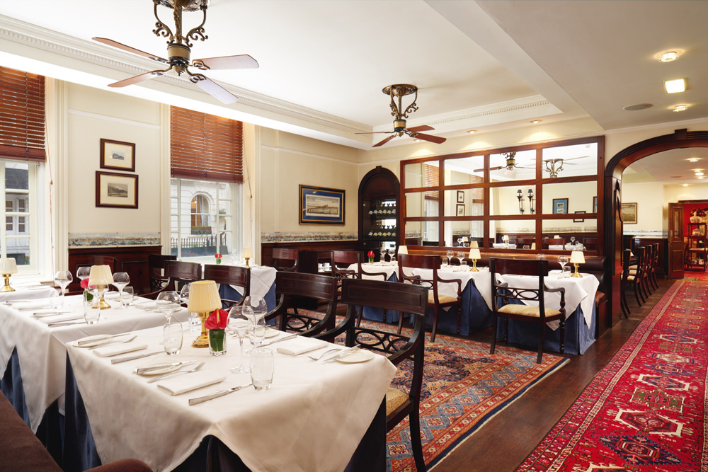 The Blue Door Bistro at the Montague Hotel - London