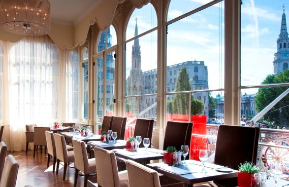 Reserve a table at The Brasserie at Charing Cross