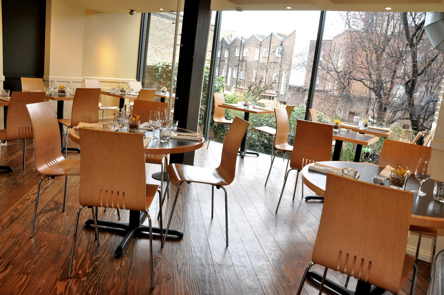 Reserve a table at The Brasserie on St John Street