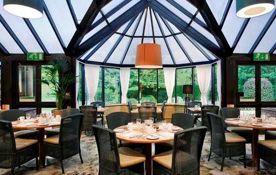 The Conservatory Restaurant at The Basingstoke Hotel - Hampshire