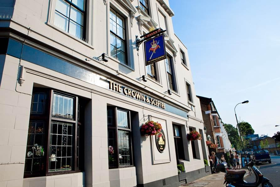 The Crown and Sceptre - London