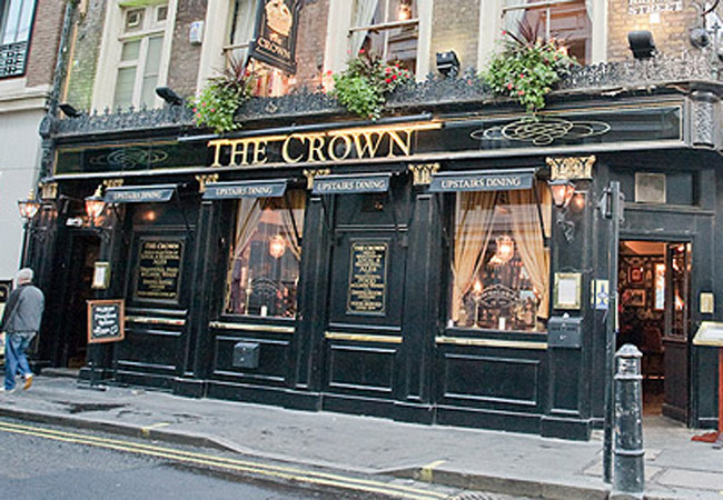 Reserve a table at The Crown - Brewer Street
