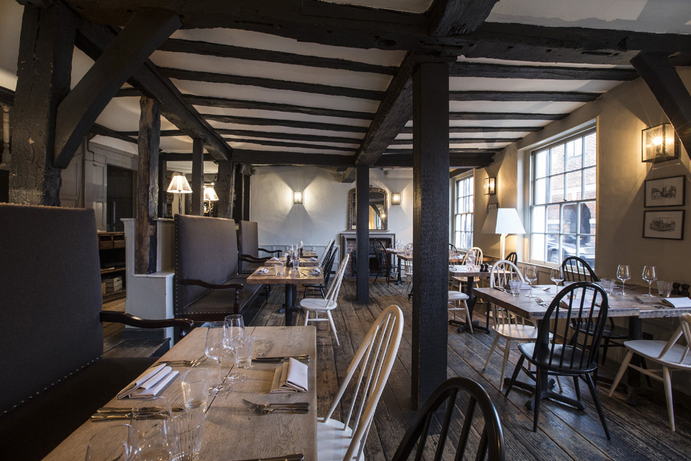 Hawkyns Restaurant at the Crown - Buckinghamshire