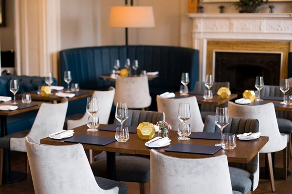 The Dining Room At The Scotch Malt Whisky Society