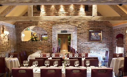 Reserve a table at The Dovecote Restaurant