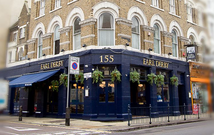 The Earl Derby - London