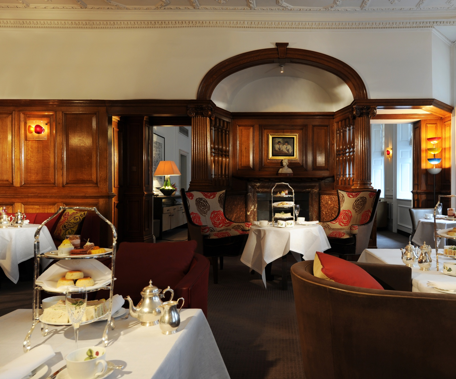 Reserve a table at The English Tea Room at Brown's Hotel