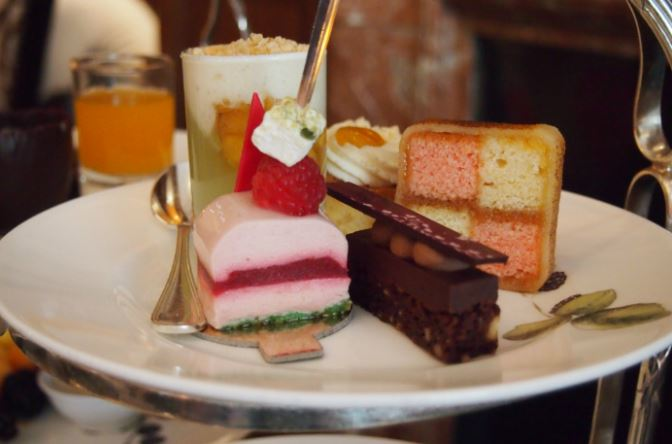 The English Tea Room at Brown's Hotel - London