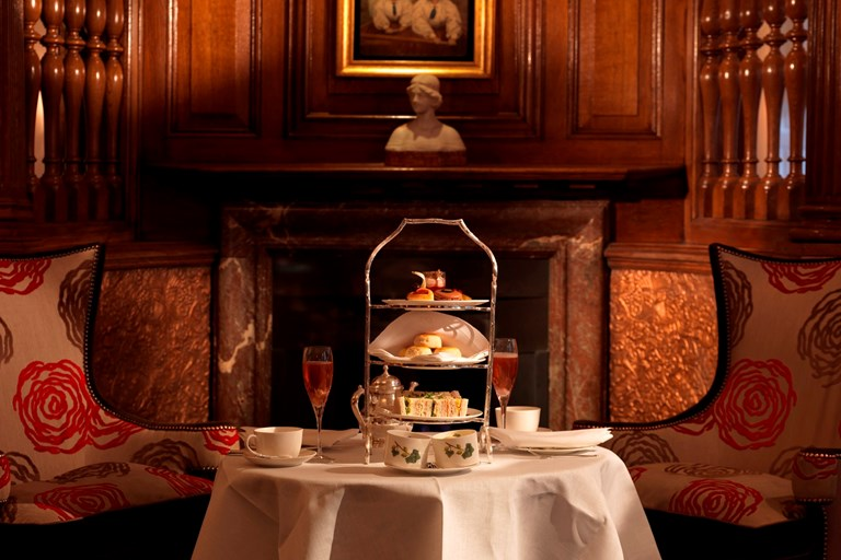 The English Tea Room At The Browns Hotel
