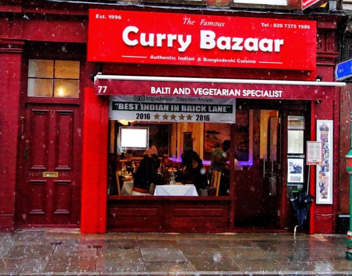 The Famous Curry Bazaar - London