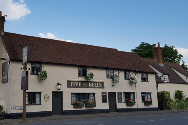 The Five Bells at Cople - Bedfordshire