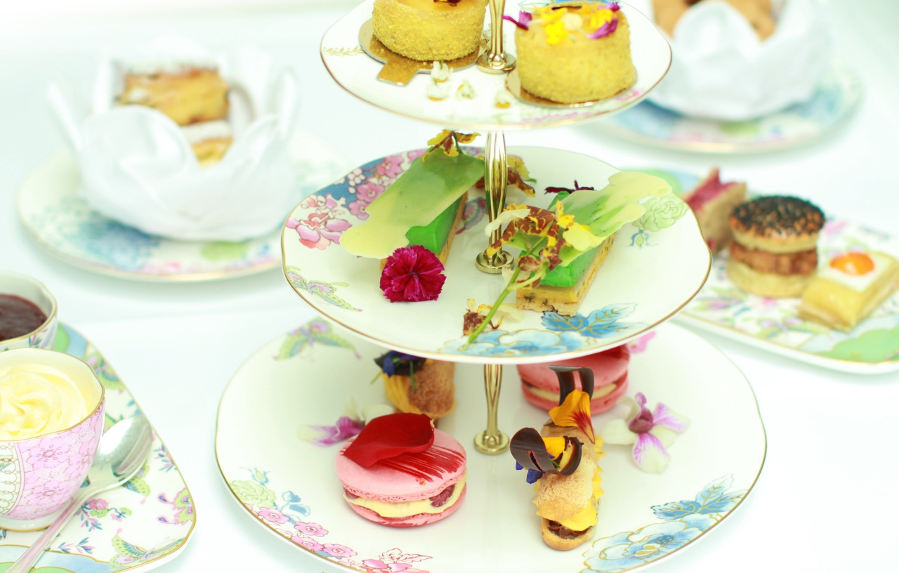 The Flower Tea at No 11 Cadogan Gardens - London