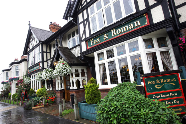 The Fox and Roman - North Yorkshire