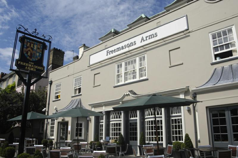 Reserve a table at The Freemasons Arms
