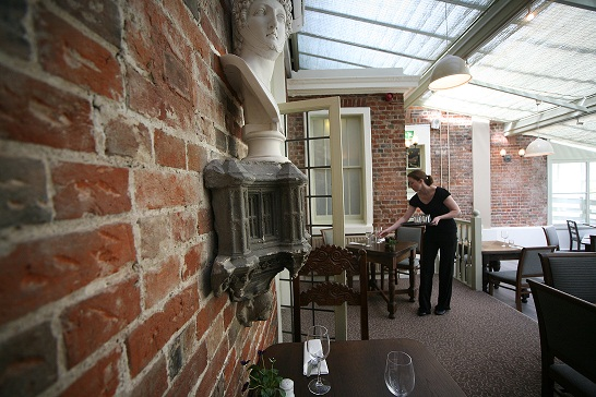 The Garden Restaurant at the Winchester Royal Hotel - Hampshire