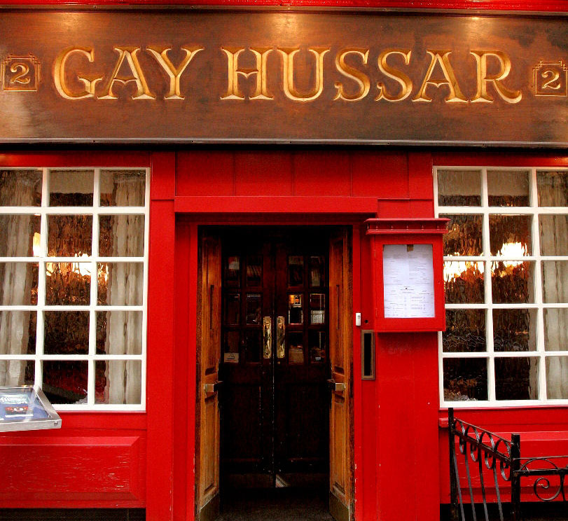 The Gay Hussar - London