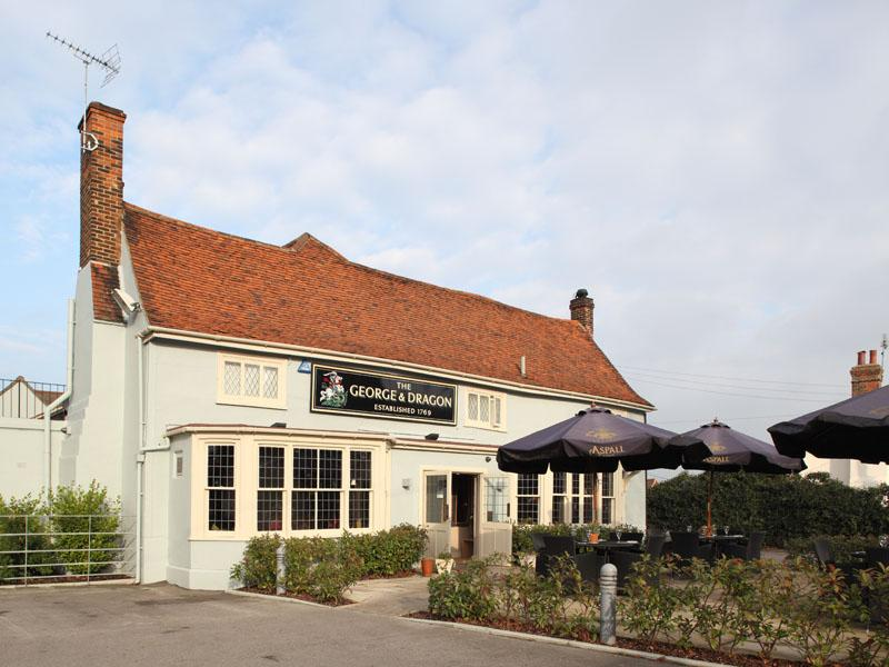 The George Amp Dragon Mountnessing Brentwood Bookatable