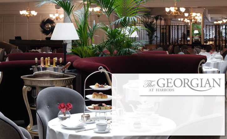 The Georgian Restaurant at Harrods - London