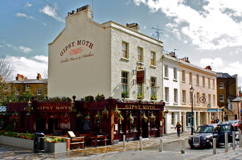 The Gipsy Moth - London