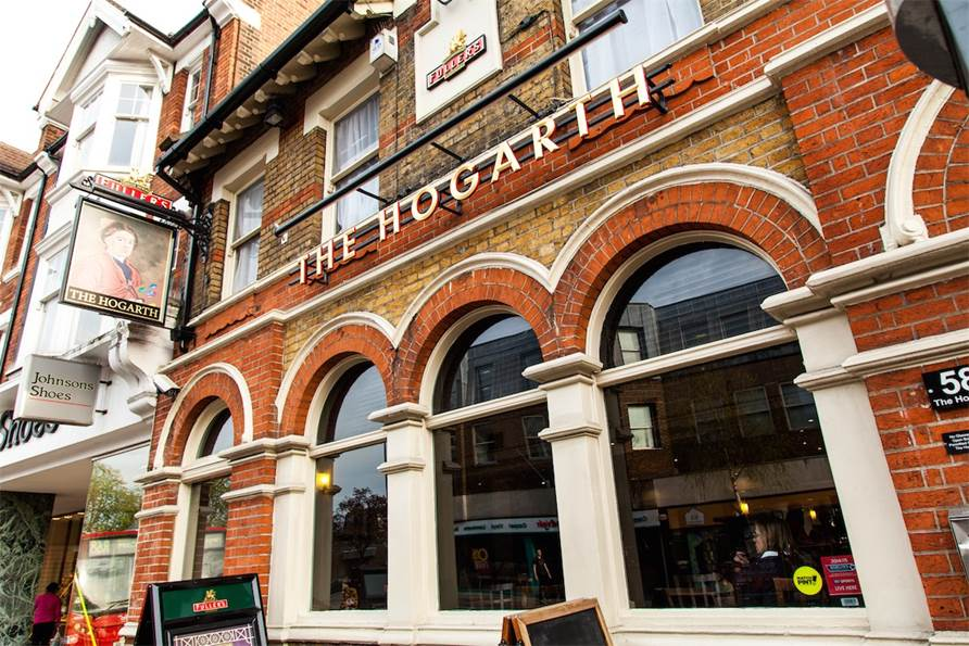 The Hogarth - Yttre London