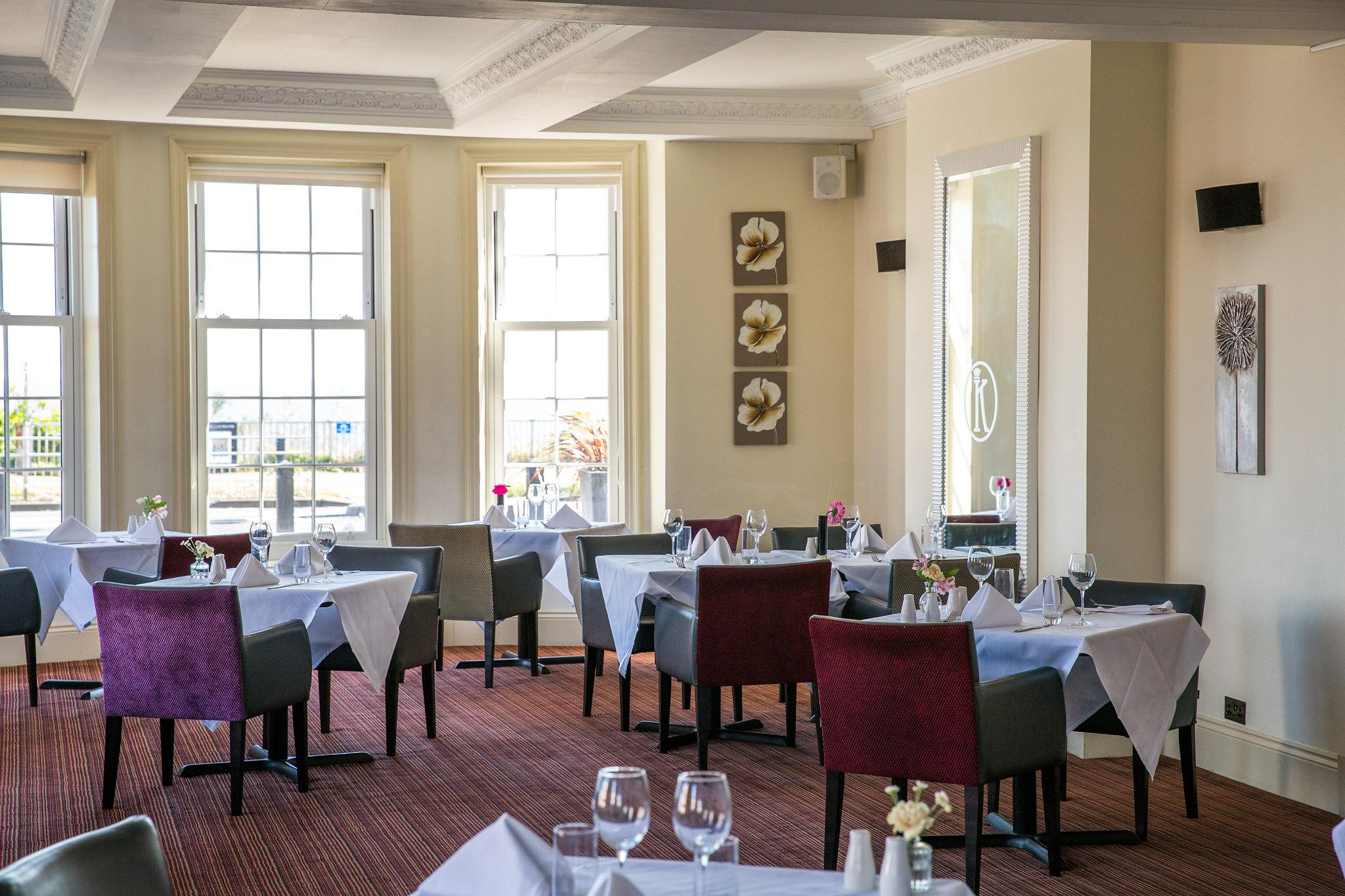 The King Suite Restaurant at Kingscliff Hotel - Essex
