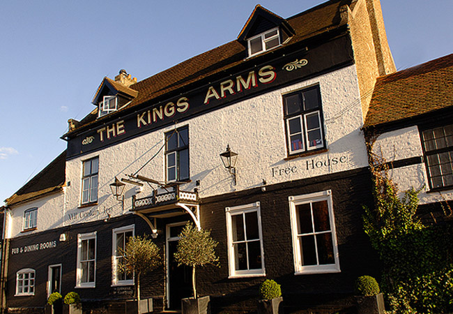 Reserve a table at The Kings Arms - Cookham
