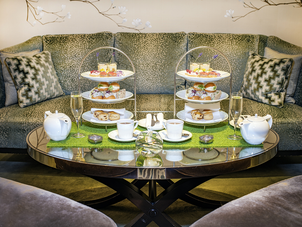 Afternoon Tea at the Knightsbridge Lounge - London