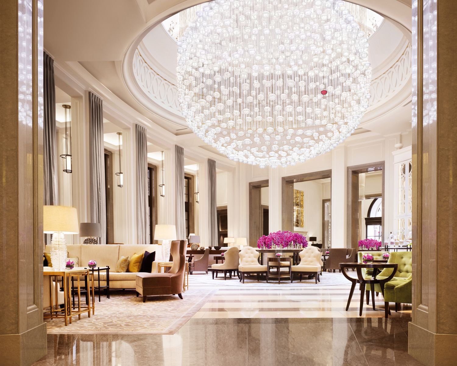 The Lobby Lounge at Corinthia Hotel London