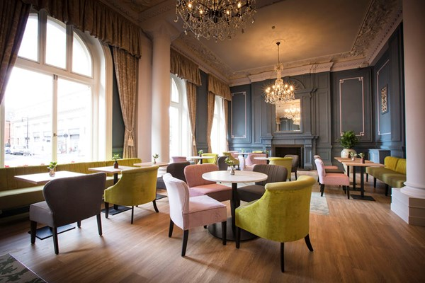The Lounge at the Grosvenor Hotel - London